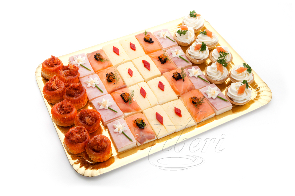tray of canaps 40 units - Canapes