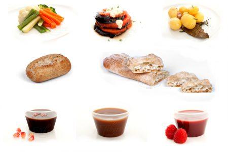 Guarniciones - Salsas y panes